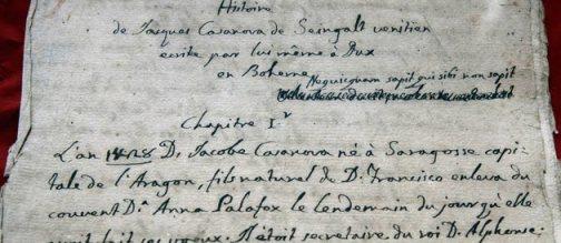 une-manuscrit